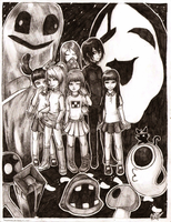 Yume Nikki - My Dream World by lmputation