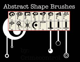 Abstract Shape Brushes by crimecontrol