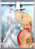 urd and the skyline by evangelion-2100