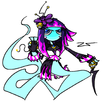 Doodle of a ghost by DrZootsuit