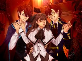 Welcome to RFA's Masion~ Mystic Messenger by Hantuh206