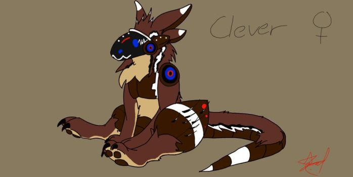 Clever Girl - Updated Bio by GizmoFoxx