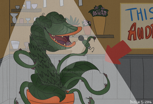 Audrey II by autotooned