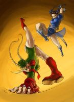 Cammy kickass collab by Flavio77