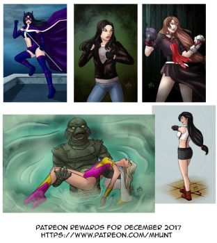Patreon Rewards for December by mhunt