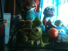 Pixar plush collection 4 by thearist2013