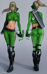 Character Reference Artemis Crock by tiangtam
