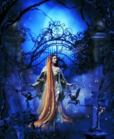 Lady of the moon by Fae-Melie-Melusine