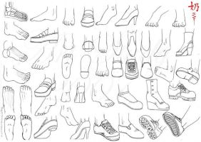 Study: Feet by The-Nai