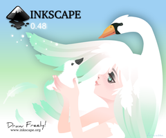 Inkscape 0.48  Screen Contest by Arwassa