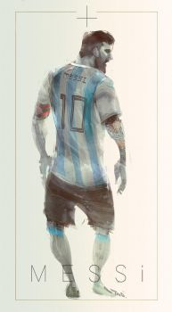 Messi by iVANTAO