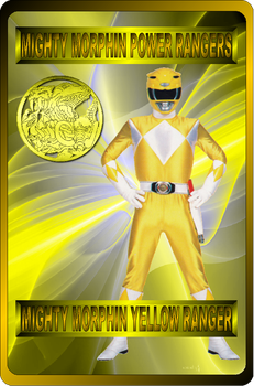 Mighty Morphin Yellow Ranger by rangeranime