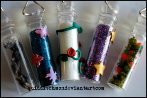 bottle charms by quidditchmom