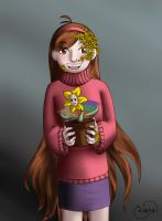 The Golden Flower of Gravity Falls by Wingd1