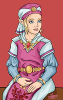 Ocarina of Time:Princess Zelda by bratchny