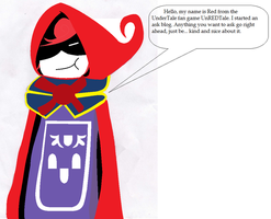 Ask UnderTale Red by Light-He-arth