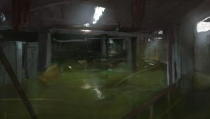 flooded basement by Kalberoos