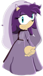 Sonic and the Black Knight AU - Lady Kirana by HedgeCatDragonix