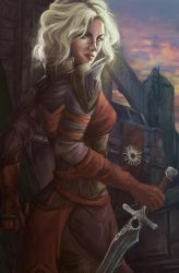 Let's save this city again, Hawke by Isminne