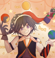 The juggler by Haoiki