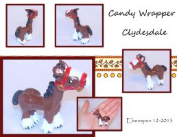 Candy Wrapper Clydesdale by MalaCembra