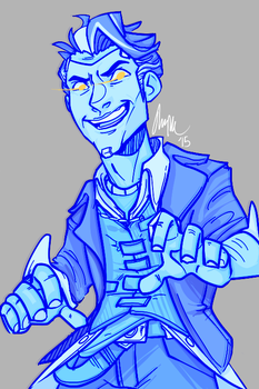 Handsome Jack by AnimeVSReality