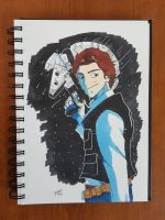 Day 107 Han Solo by TomatoStyles