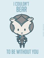 Volibear: League of Valentines by Jaunea