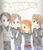 Paramore by iheartkittycats