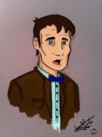 11th Doctor - Coloured by spiritofthebeast