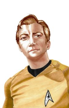 Captain Kirk by panchan14