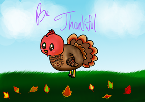 Happy Thanksgiving! by Sweetnminty