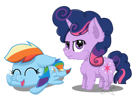 Let me guess, you're Rainbow Dash by SpokenMind93