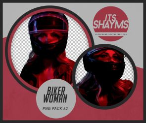 Biker Woman - PNG PACK #2 by ItsShayms
