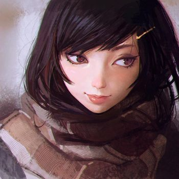 Little Thoughts by Kuvshinov-Ilya
