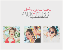 Hyuna - Icons by mayradias