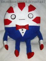 Peppermint Butler plushie by ChloeRockChick14