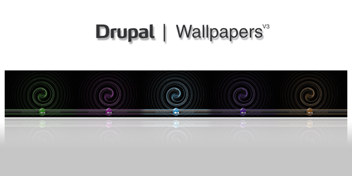 Drupal Wallpapers R3, njt1982 by njt1982