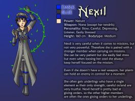 Omega Entity Profile-Nexil by Lord-Evell