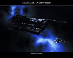 Stargate - A Starry Night by Mallacore