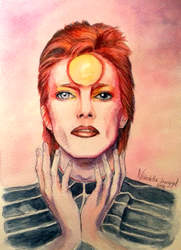 Bowie by Rhoey