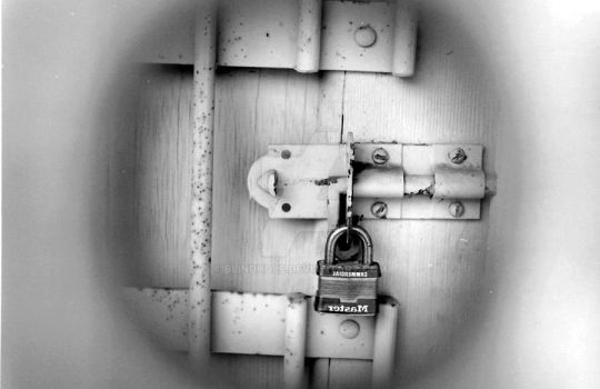 a blind man :first locked: by blindhole