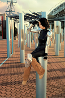 Angel of Redemption - Battle Angel Alita by Lithium-Toxide