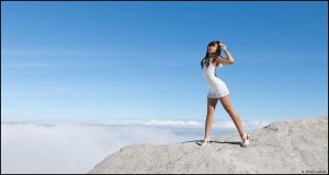 Karma Fayt above the clouds by Skookum-Models