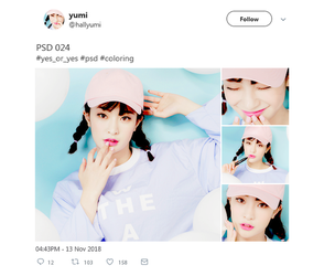 PSD COLORING: Yes or Yes by Hallyumi