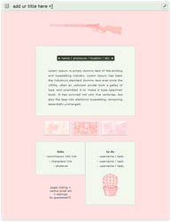 free | pastel pink aesthetic page code by gunsweat