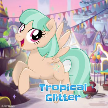 MLP pony maker pony adopts- Tropical Gitter(open) by April-13
