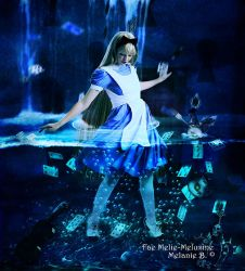 Alice in waterworld by MelFeanen