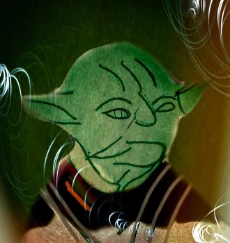 Old Yoda Sketch from Tablet WIP by rimete