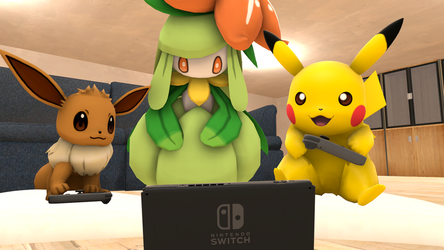 [SFM] Let's Go playing Switch by ZeFrenchM